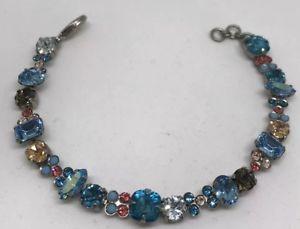 【送料無料】ブレスレット アクセサリ― マルチカラークリスタルブレスレットsorrelli multicolor crystal bracelet