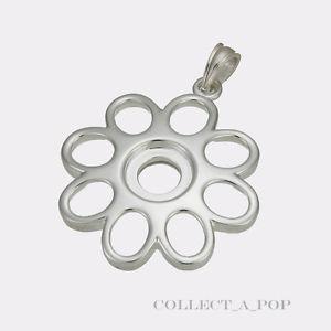 【送料無料】ブレスレット アクセサリ― スターリングシルバーペンダントauthentic kameleon sterling silver 8 petal flower pendant kp029 *retired*