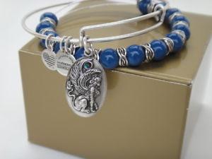 【送料無料】ブレスレット アクセサリ― アレックススフィンクスブレスレットセットラファエリアンシルバークリスタルalex amp; ani sphinx charm bracelets, set of two, rafaelian silver crystal detail
