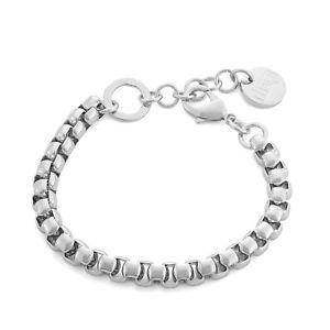 【送料無料】ブレスレット アクセサリ― ベネチアンリンクブレスレットsilver electro plated venetian link bracelet