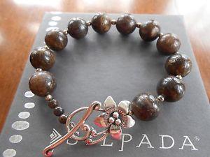 【送料無料】ブレスレット アクセサリ― スターリングシルバーブレスレット listingretired bronzite amp; silpada sterling silver bracelet b1365