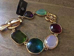 【送料無料】ブレスレット アクセサリ― ブライトンガラスビーズブレスレットbrighton nwt haute socialite glass bead bracelet