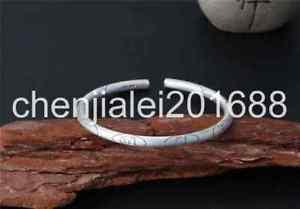 【送料無料】ブレスレット アクセサリ― s925スターリングリバイバルマントラシンボルブレスレットpure s925 sterling silver retro ring mantra amulet symbols simple bracelet
