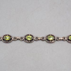 【送料無料】ブレスレット アクセサリ― スターリングシルバーブレスレット listingvintage sterling silver bracelet 109g 925