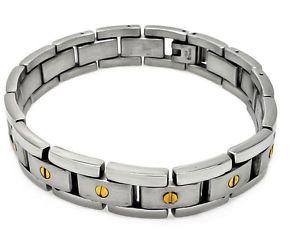 【送料無料】ブレスレット アクセサリ― bracelet mens stainless steel brushed look9longamazing qualitybracelet mens stainless steel brushed look 9 long amazing q
