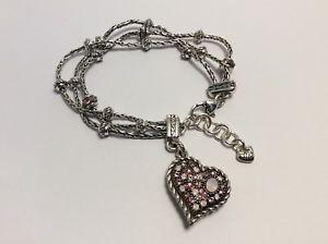【送料無料】ブレスレット アクセサリ― ブライトンピンクブレスレットnwotパワーbrighton love me tender power of pink bracelet nwot