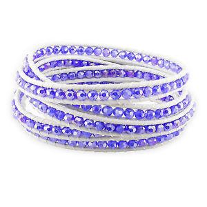 【送料無料】ブレスレット アクセサリ― スターリングシルバークリスタルブレスレットsterling silver crystal bracelet 39