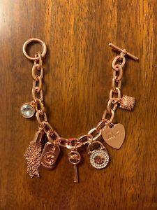 【送料無料】ブレスレット アクセサリ― listingmichaelコールlogoチェーンリンクブレスレット195mkj1308040 listingmichael kors charm pave logo chain link bracelet retails 195 mkj13
