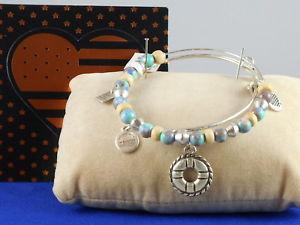 【送料無料】ブレスレット アクセサリ― アレックスラファエリアンシルバーブレスレットalex and amp; ani rafaelian silver voyage life preserver set 2 adjustable bracelet