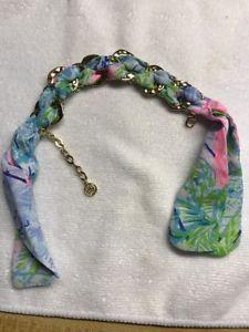 【送料無料】ブレスレット アクセサリ― ピューリッツァーボヘミアンクイーンスカーフゴールドリンクブレスレットlilly pulitzer nwt bohemian queen scarf gold link bracelet gwp free shipping