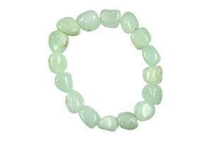【送料無料】ブレスレット アクセサリ― ブレスレットbracelet chrysoprase stones rolled extra quality
