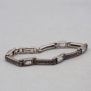【送料無料】ブレスレット アクセサリ― ヴィンテージブレスレットbracelet in sterling silver vintage 131g 925
