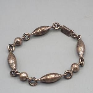 【送料無料】ブレスレット アクセサリ― ビンテージスターリングシルバーブレスレットメキシコvintage sterling silver bracelet 198g 925 made in mexico