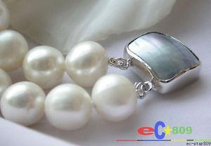 【送料無料】ブレスレット アクセサリ― p2330 aa2row 12mmround white freshwaterpearl braceletp2330 aa 2row 12mm round white freshwater pearl bracelet