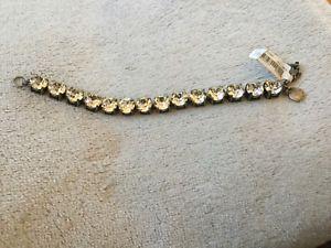 【送料無料】ブレスレット アクセサリ― jブレスレットnwtj crew crystal bracelet nwt