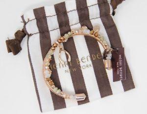 【送料無料】ブレスレット アクセサリ― パームビーチカフローズゴールドブレスレットhenri bendel palm beach charm cuff rose gold bracelet