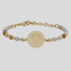 【送料無料】ブレスレット アクセサリ― ブレスレットチャクラモディファイbrosway, bracelet chakra, mod faith, hope, love bhk222,