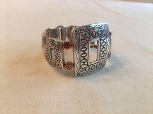 【送料無料】ブレスレット アクセサリ― ブライトンキャニオンビーズリンクブレスレットbrighton copper canyon silver plated copper beads link bracelet jb4671 excellent