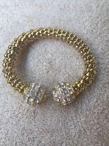 【送料無料】ブレスレット アクセサリ― チューニングラインストーンブレスレット stunning rhinestone bracelet as shown, excel cond