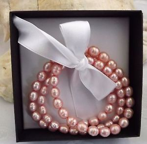 【送料無料】ブレスレット アクセサリ― ストレッチブレスレットピンクパールセットhonora cultured ringed pearl set of 3 stretch bracelets smallaverage pink