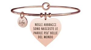 【送料無料】ブレスレット アクセサリ― ブレスレットスチールyoung adult bracelets steel love heart hugs 731357
