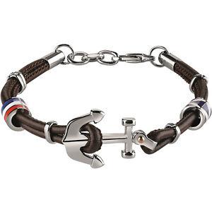 【送料無料】ブレスレット アクセサリ― ジュエリーブレスレットセーリングレザーブラウンbliss jewelry, bracelet sailing leather brown and still 20071520