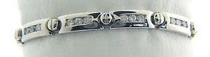 【送料無料】ブレスレット アクセサリ― アルジェントスターリング2361 grammi argento sterling 191cm zircone cubico bracciale j97