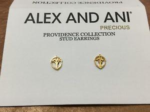 【送料無料】ブレスレット アクセサリ― アレックスアニ スターリング14kyイアリングブレッシングズalex and ani providence sterling silver14ky earrings unexpected blessings