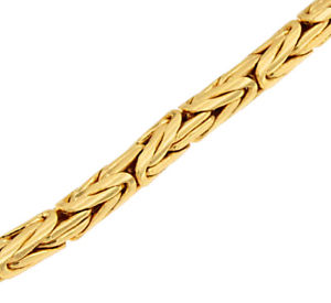 【送料無料】ブレスレット アクセサリ― ロイヤルラウンドブレスレットチェーンビザンチンroyal round bracelet chain byzantine gold plated doubled or woman jewelry man
