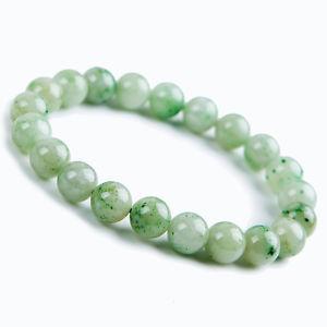 【送料無料】ブレスレット アクセサリ― ストレッチラウンドビーズブレスレットnatural china dushan jade gemstone stretch round beads bracelet aaaa 9mm