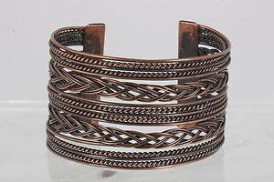 【送料無料】ブレスレット アクセサリ― エクストラワイドカフブレスレットファッションcopper extra wide cuff bracelet fashion 3725