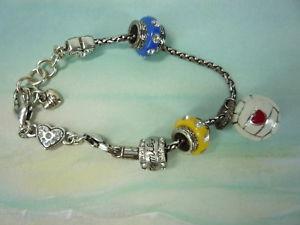 【送料無料】ブレスレット アクセサリ― エナメルサッカーブレスレット listingbrighton silver plated enamel soccer mom charm bracelet ls1