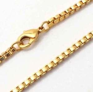 【送料無料】ブレスレット アクセサリ― オリジナルベネチアンボックスチェーンブレスレットメッキイタリア original venetian box chain bracelet gold plated 26mm 59106 from italy