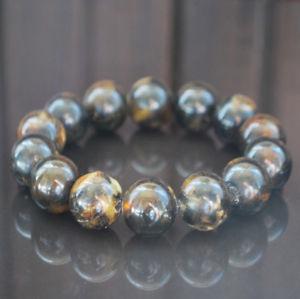 【送料無料】ブレスレット アクセサリ― バルトビーズブレスレットダークbaltic amber beads bracelet 27 gr dark genuine