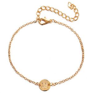 【送料無料】ブレスレット アクセサリ― ファッションシンプルアルファベットパーソナライズブレスレットfashion and simple personality alphabet mletters personalized charms bracelet h6