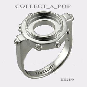 【送料無料】ブレスレット アクセサリ― スターリングリングサイズ#authentic kameleon sterling silver constrellation ring size 9 kr0249 *retired*