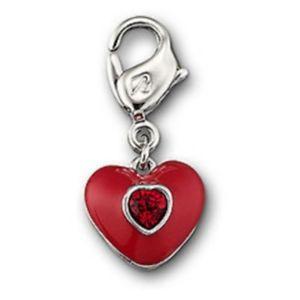 【送料無料】ブレスレット アクセサリ― スワロフスキーシルバークリスタルアクセサリーボックスミントswarovski silver crystal jewllery  little heart charm 1050458 mint in box
