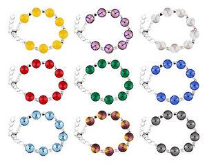 【送料無料】ブレスレット アクセサリ― スターリングリゾーツスターリングシルバーブレスレットスワロフスキーsterling silver bracelet 16cm45cm made with 1122 12mm swarovski crystals