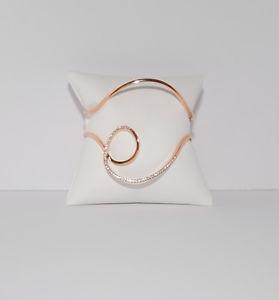 【送料無料】ブレスレット アクセサリ― ミハエルローズゴールドトーンカフブレスレットドルmichael kors brilliance rose gold tone cuff bracelet nwt 125