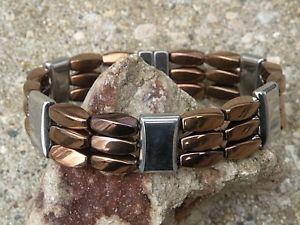 【送料無料】ブレスレット アクセサリ― ヒーリングブレスレットmens womens 100 copper silver magnetic healing bracelet anklet 3 row therapy