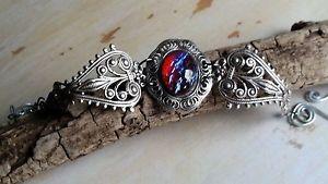 【送料無料】ブレスレット アクセサリ― ファイアーオパールビクトリアブレスレットドラゴン1fire opal victorian bracelet stunning dragons breath one of a kind stone