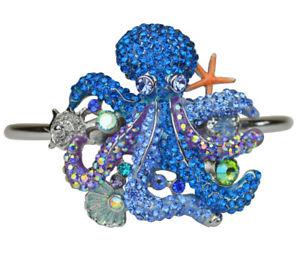 【送料無料】ブレスレット アクセサリ― カーク1000タコカフスブレスレットsilvertonekirks folly a thousand hugs octopus cuff bracelet silvertone