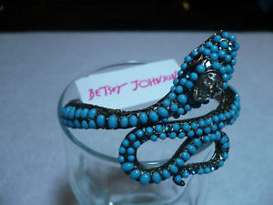 【送料無料】ブレスレット アクセサリ― 9500 betsey johnson hinged snake bracelet gorgous9500 betsey johnson hinged snake bracelet gorgous
