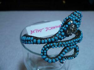 【送料無料】ブレスレット アクセサリ― 9500 betsey johnson hinged snake bracelet gorgous9500 betsey johnson hinged snake bracelet gorgous