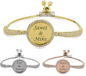 【送料無料】ブレスレット アクセサリ― 925スターリングサイズブレスレットpersonalized 925 sterling silver adjustable size bracelet