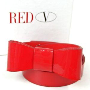 【送料無料】ブレスレット アクセサリ― バリボンデザイン…authentic red valentino hqj00184 ribbon design shake rubbed ~tsu to patent l