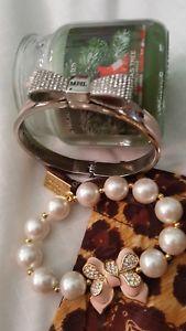 【送料無料】ブレスレット アクセサリ― ブライトンブレスレットロンドンセットフラットピンクbrighton my flat in london set of 2 braceletspink