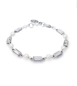 【送料無料】ブレスレット アクセサリ― benamun bridal petite melody crystal and pearl braceletbenamun bridal petite melody crystal and pearl bracelet