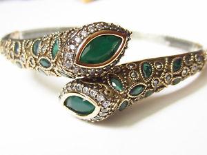 【送料無料】ブレスレット アクセサリ― タルコエメラルドplata de925 hechobrazaleteベルデpulseraturco emerald plata de ley 925 hecho a mano brazalete verde pulsera
