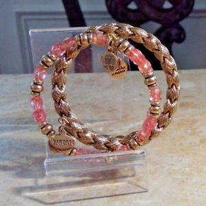 【送料無料】ブレスレット アクセサリ― アレックスアニバラalex and ani gold and rose bracelets